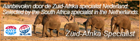 Selected by Zuid-Afrika Specialst